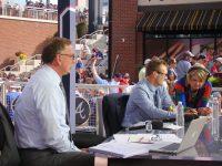 The Fox Sports crew