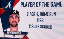 Ender is the Player of the Game