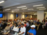 More than 145 people attended