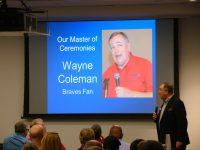 Master of Ceremonies Wayne Coleman
