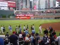 All-Stars walk onto the field at SunTrust Park