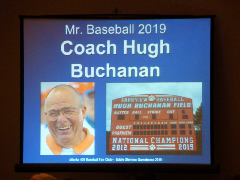 Coach Hugh Buchanan