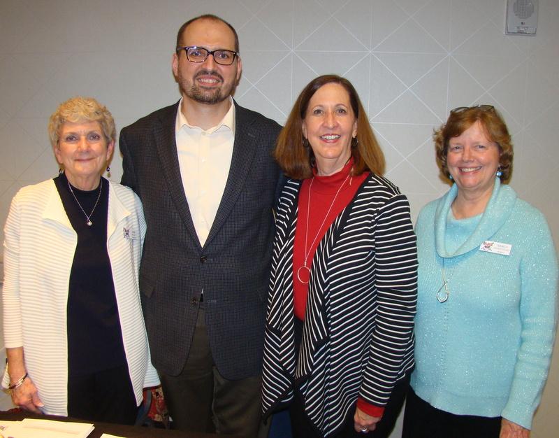 Lynn Walley, Matthew Kaminski, Lynn Camp, Nancy Badertscher
