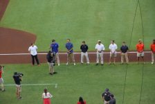 On-field Ceremony