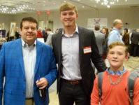 Aaron Schunk meets fans
